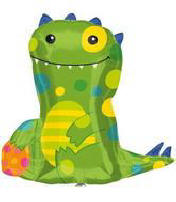 "24"" Friendly Monster Mylar Balloon"